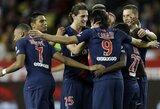 """Prancūzijos taurė: PSG užtikrintai nugalėjo """"Strasbourg"""""""