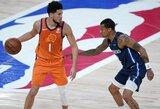 """""""Suns"""" baigė pasirodymą nepaisant visų aštuonių laimėtų rungtynių"""