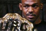 UFC čempionas J.Jonesas dėl dopingo testuojamas daugiau nei bet kas pasaulyje