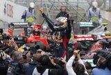 """Čempionu tapęs S.Vettelis: """"Tai buvo sunkiausios lenktynės karjeroje"""""""
