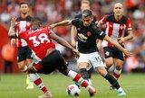 """Pavojaus varpai sezono pradžioje: """"Manchester United"""" barstė taškus ir prieš mažumoje likusius """"Southampton"""""""
