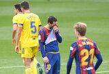 """89-ąją minutę įvartį praleidusi """"Barcelona"""" išleido pergalę iš rankų prieš """"La Liga"""" autsaiderius"""