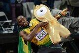 Olimpinį rekordą pagerinęs U.Boltas triumfavo prestižiniame 100 m bėgime