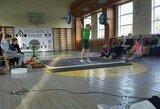 Europos jaunučių sunkiosios atletikos čempionate startavo pirmosios dvi lietuvės