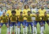 Oscaras ir P.Coutinho sugrįžta į Brazilijos rinktinę, kurioje nebus Neymaro