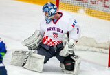 Olimpinį atrankos ciklą ledo ritulio rinktinė užbaigs rungtynėmis su nežibančia Kroatija