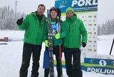 Pasaulio jaunimo biatlono taurės etape – sėkmingas L.Banio pasirodymas