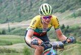 Kalnų dviratininkė K.Sosna iškovojo pergalę Šveicarijoje