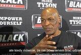 """M.Tysonas įplieskė politinį konfliktą su lenkais: """"Jūsų tragedijos yra niekas, palyginus su juodaodžių kankinimais"""""""