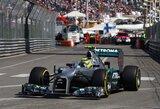 Paskutinėse Monako GP treniruotėse greičiausias buvo N.Rosbergas
