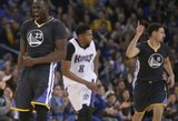 """Rekordus toliau gerinantys NBA čempionai privertė suklupti """"Kings"""" krepšininkus"""