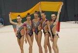 Lietuvos gimnastės – Europos jaunimo čempionato finale