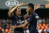"""Valensijoje keturis įvarčius mušę """"Arsenal"""" tvirtai žengė į Europos lygos finalą"""