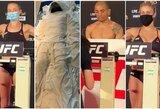 """""""UFC 251"""":  J.Masvidalio kančios atsipirko, J.Aldo svėrėsi nuogas ir be kaukės"""