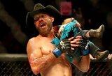 """UFC Kanadoje: """"Kaubojus"""" nugalėjo A.Iaquintą ir pagerino du visų laikų rekordus, W.Harrisas sutriuškino ukrainietį per 50 sekundžių"""