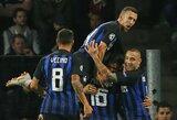 """Čempionų lyga: """"Monaco"""" nesėkmės persekioja ir Europoje, """"Inter"""" vėl atsitiesė po praleisto įvarčio ir laimėjo"""