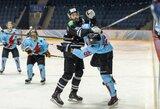 """Oponentų puolimą sustabdę """"Hockey Punks"""" žengė dar vieną žingsnį link finalo"""