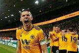 """Du įvarčius pelnę """"Wolverhampton"""" išmetė """"Manchester United"""" iš FA taurės"""