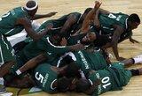 Staigmena: Nigerijos krepšininkai olimpinės atrankos ketvirtfinalyje palaužė graikus