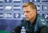 "E.Jankauskas prognozuoja intrigą ""Sharp LFF taurės"" finale"