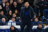 """F.Lampardas patirtos """"Chelsea"""" nesėkmės nesureikšmino: """"Tai yra maži testai, kuriuos turime išlaikyti"""""""