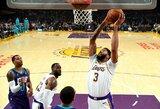 """""""Lakers"""" sutriuškino """"Hornets"""" komandą"""