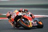 Tragedija paženklinto Katalonijos GP etapo lenktynes pirmas pradės M.Marquezas