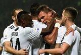 """Italijoje – G.Higuaino nerealizuotas baudinys ir raudona kortelė bei """"Juventus"""" pergalė"""