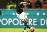 """C.Bacca """"rabona"""" įvartis padėjo """"Milan"""" klubui patekti į Italijos taurės pusfinalį"""