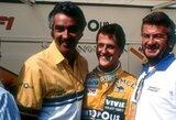 F.Briatore įvardijo pagrindinį skirtumą tarp M.Schumacherio ir L.Hamiltono karjerų