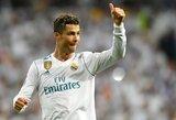 C.Ronaldo ir toliau gerina vieną rekordą po kito Čempionų lygoje