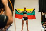 "R.Namajunas prieš kovą dėl UFC čempionės diržo: ""J.Jedrzejczyk manęs negąsdina"""