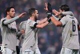 """""""Juventus"""" vietiniame čempionate iškovojo užtikrintą pergalę"""