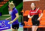 V.Fomkinaitė ir G.Voitechovskaja Airijoje nukeliavo iki ketvirtfinalio