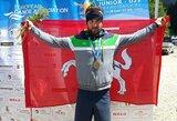 Režisierių klaida realybės nepakeitė: kanojininkas V.Korobovas – Europos U23 čempionas!