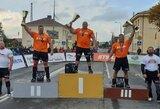 Lietuvos galiūnų čempionato finale tarp brolių Lalų įsiterpė tik M.Brusokas