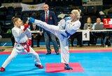 Lietuvos karatė kovotojų tikslas – olimpinės žaidynės