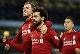 """M.Salah atskleidė, kokią savo svajonę yra pasiryžęs paaukoti, kad """"Liverpool' triumfuotų """"Premier"""" lygoje"""