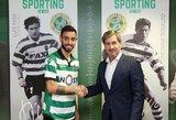 """Portugalijos žiniasklaida: """"Real"""" jungiasi į kovą dėl B.Fernandeso parašo"""