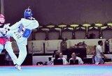 G.Gaižauskaitė iškovojo Europos jaunimo tekvondo čempionato bronzos medalį