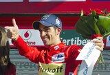"""Vuelta a Espana"" lenktynėse – ženklūs pokyčiai bendroje įskaitoje"