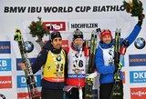 Pasaulio biatlono taurės etape Austrijoje – V.Strolios karjeros rekordas