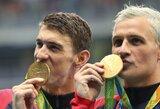 Su alkoholizmu kovojęs legendinis R.Lochte grįžo į plaukimą ir sieks vietos Tokijo olimpiadoje