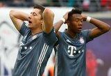 """Vokietijoje – po VAR peržiūros neįskaitytas L.Goretzkos įvartis ir """"Bayern"""" nulinės lygiosios"""