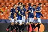 """""""Atalantos"""" svajonė tęsiasi: dar kartą 4 įvarčius mušę italai iškopė į kitą Čempionų lygos etapą"""