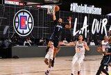 """NBA nauja pradžia: """"Clippers"""" šventė pergalę draugiškame mače"""
