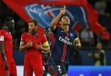 """PSG pamokė lygos naujoką, """"Marseille"""" patyrė antrą pralaimėjimą (+ kiti rezultatai)"""