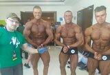 IFBB pasaulio kultūrizmo čempionate T.Kairys iškovojo sidabro medalį