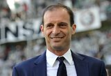 """M.Allegri nekantriai laukia mūšio su """"Inter"""": """"Susitiks dvi komandos, kurios sukūrė Italijos futbolo istoriją"""""""