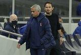 """J.Mourinho apie F.Lampardo atleidimą: """"Tai šiuolaikinio futbolo brutalumas"""""""